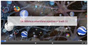 Bibliotecas argentinas en la web social