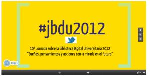 Presentación twitter en bibliotecas argentinas