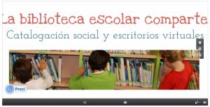 biblioteca escolar comparte