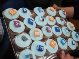 Cupcakes 2.0 para compartir. Gentileza de Natalia, Biblioteca de Ingeniería UNLP