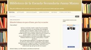 blogBbibliotecaJuanaManso